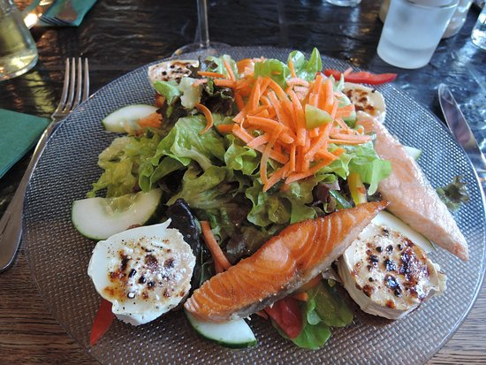 Gottenheim, Tyskland: Gerome's salat