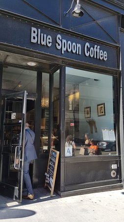 Photo of Cafe Blue Spoon Coffee Company at 76 Chambers St, New York, NY 10007, United States