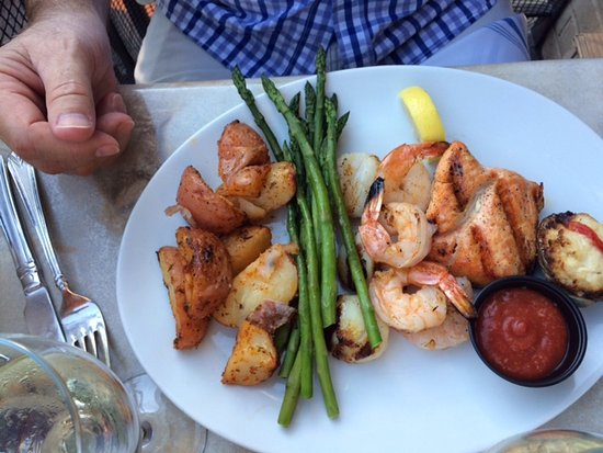 One of the seafood platters picture of fish market for Fish market alexandria va