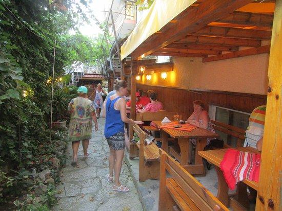 Kranevo, Bulgaria: Ресторан