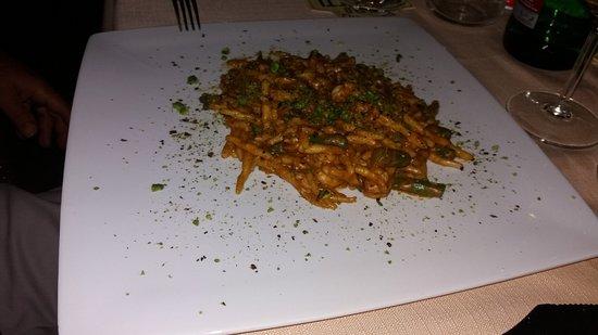 Barcellona Pozzo di Gotto, Italien: Un primo piatto