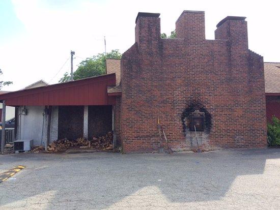 Burlington, NC: The pit outside where the magic happens...