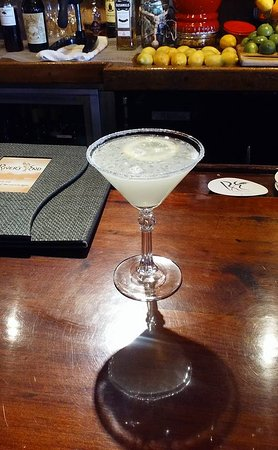 Jenner, CA: Lemon Drop Martini