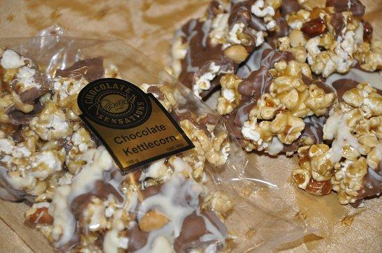 Paris, Canadá: Chocolate Peanut Kettlecorn