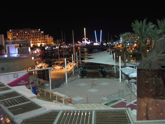 Crowne Plaza Hotel Eilat : View from room