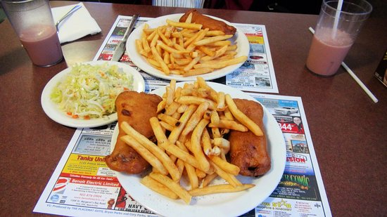 Dartmouth, Canada: Fish and chips