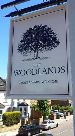 Isleworth, UK: Woodlands Tavern