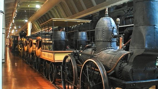 The Henry Ford: DeWitt Clinton Steam Locomotive of the early times