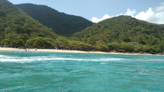 Parque Nacional Natural Tayrona: Rumo a playa Cristal