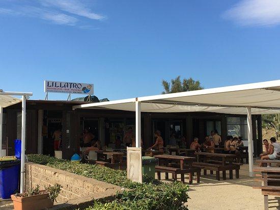Bagno Lillatro : Restaurant außen foto di il lillatro rosignano marittimo