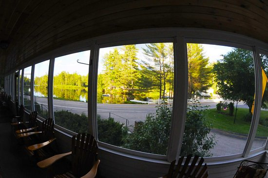 Madison, NH: The view from the front porch