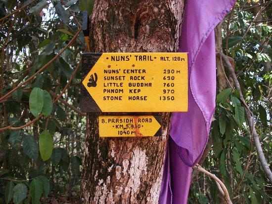Kep, Cambodja: Signposts