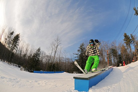 Madison, Nueva Hampshire: Twisted Pine Terrain Park
