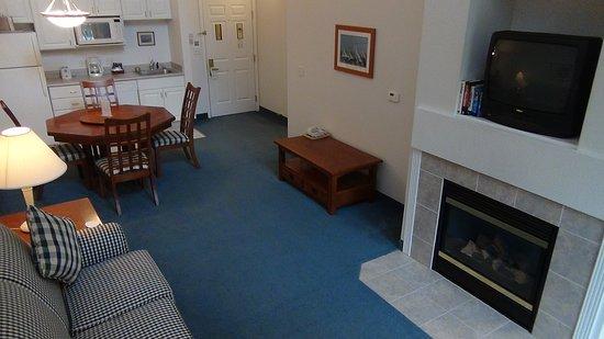 Delavan, Висконсин: Living Room Area