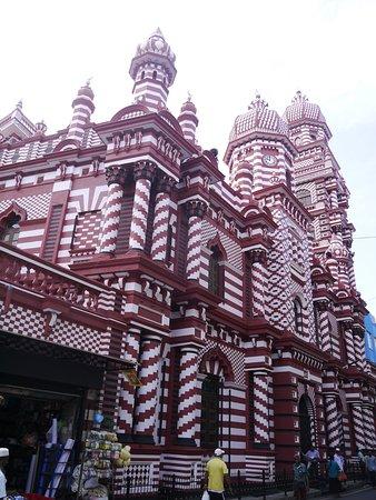 Jami Ul-Alfar Mosque: Fachada