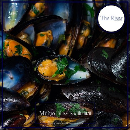 Agia Fotia, Grekland: Μύδια με Ούζο | Mussels with Ouzo