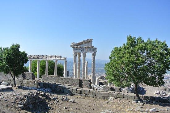 Bergama, Tyrkia: Le temple d'Apollon