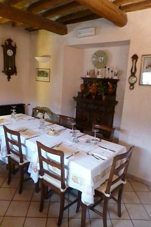 Piandimeleto, Италия: sala da pranzo