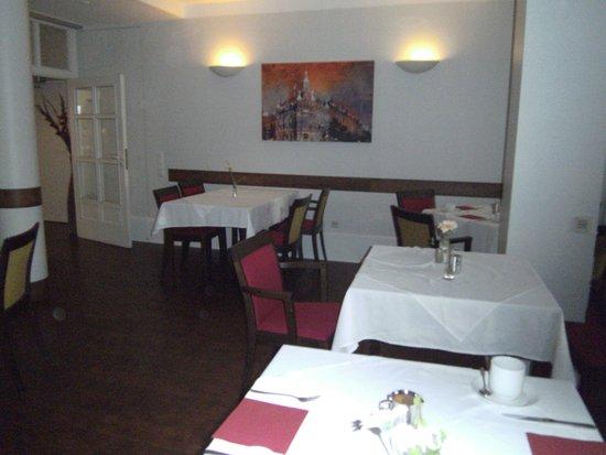 Das Stadthaushotel Altona: Frühstücksraum des Hotels