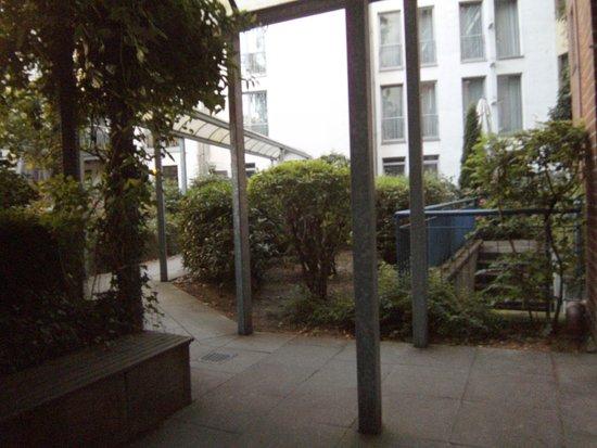 Das Stadthaushotel Altona: Innenhof des Hotels