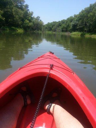 Grand Prairie, TX: Kayaking at Loyd Park.