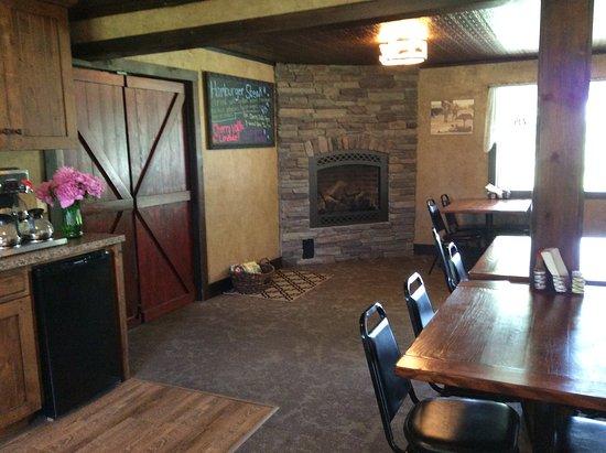 Jordan Valley, Oregón: Dining room