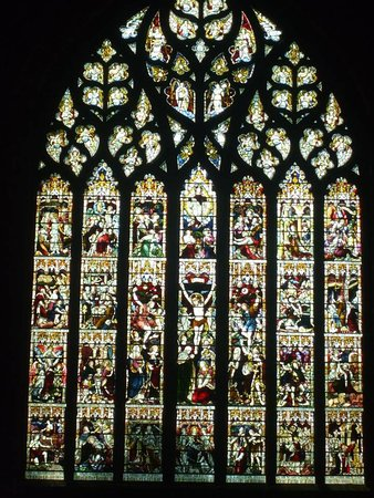 Chester Cathedral: Stained-glass window