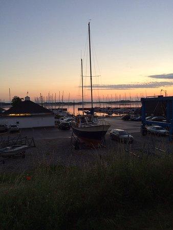 Jyllinge, Danimarca: Flot solnedgang