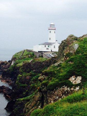 Portsalon, أيرلندا: Fanad lighthouse