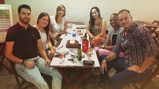 Aracatuba, SP: Comemorando aniversario com amigos