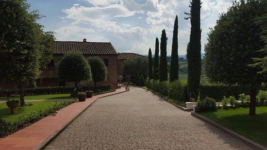 Borgo Tre Rose: Dokąd pójść? Po wino czy na  basen?