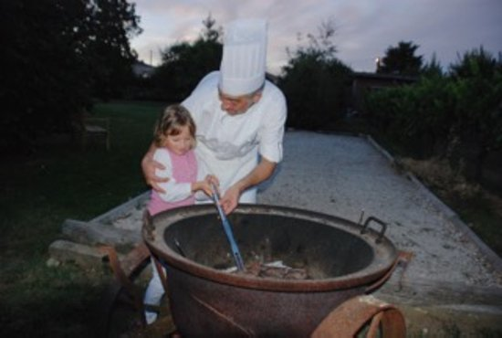 Ruch, ฝรั่งเศส: Le Chef David et Valentine
