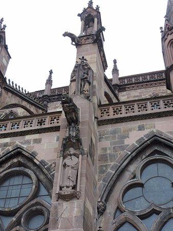 Freiburger Münster: Catedral de Friburgo, Friburgo, Selva Negra, Alemania.