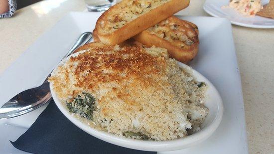 Blue Crab Gratin Picture of Jack Allens Kitchen Round Rock