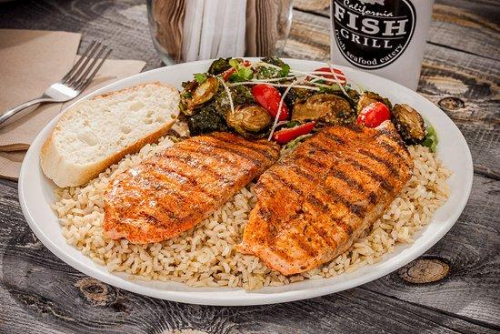 Brea, Kalifornien: Cajun Style Salmon