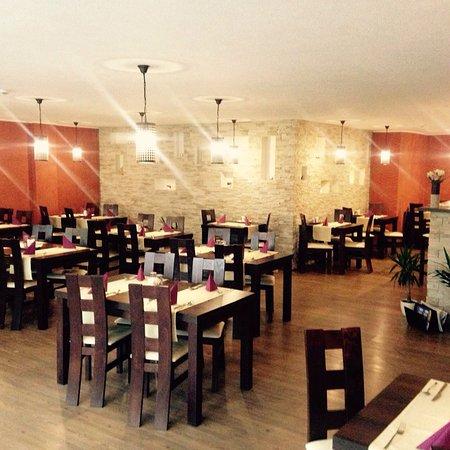 Stary Smokovec, Słowacja: interiér reštaurácie