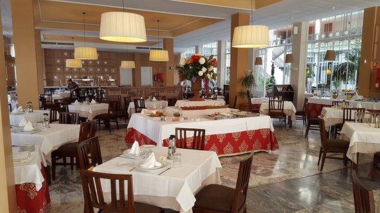 Gran Hotel Aqualange: comedor para desayunos después almuerzos y cenas.