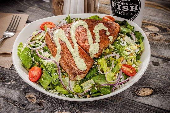 เอลเซกันโด, แคลิฟอร์เนีย: Cajun Seared Ahi Salad