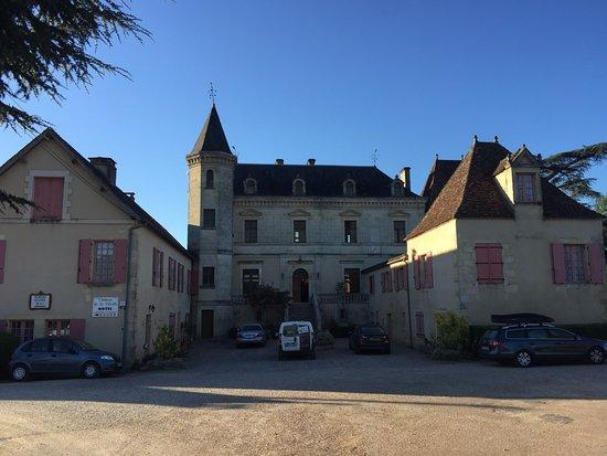 Limeuil, Γαλλία: The Domaine de la Vitrolle view