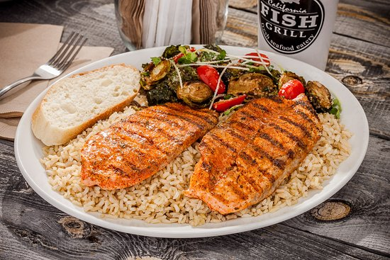 cajun style salmon picture of california fish grill