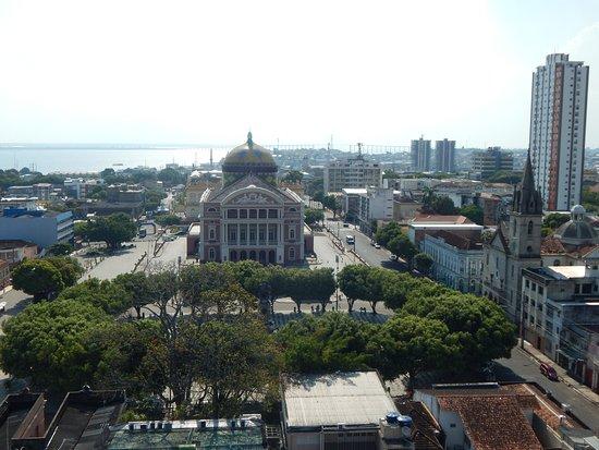 Taj Mahal Hotel Manaus: Vista da cobertura