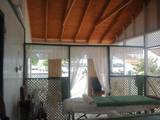 St. John's, Antigua: The progressive transformation of Pam's Wellness Centre...