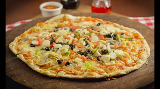 Grecia, Costa Rica: Pizza Vegetariana