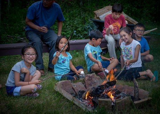 Choteau, MT: Campfire fun