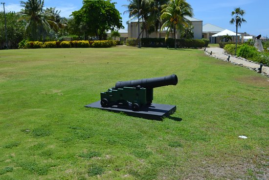 Pedro St. James National Historic Site: Cannon on property