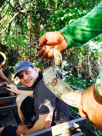 Amazon Gero Tours: The boa was 2 meters