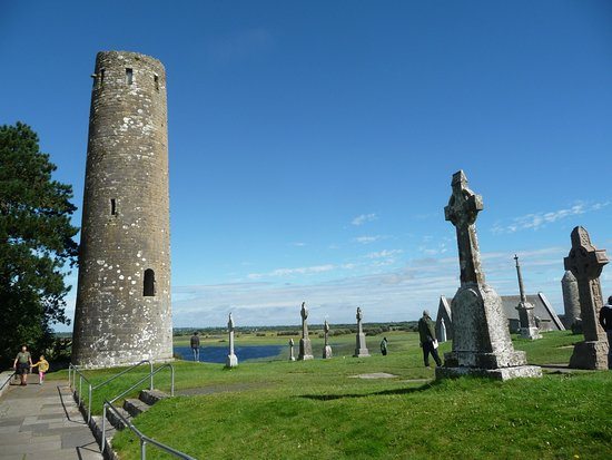 ‪‪County Offaly‬, أيرلندا: Clonmacnoise‬