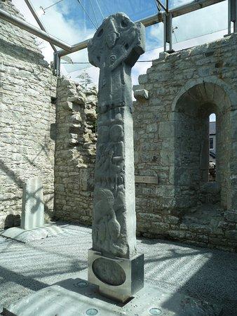 Kilfenora, Ireland: ein Hochkreuz