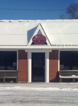 Remington, IN: Front of the restaurant