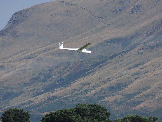 Kinross, UK: Glider at Scotlandwell
